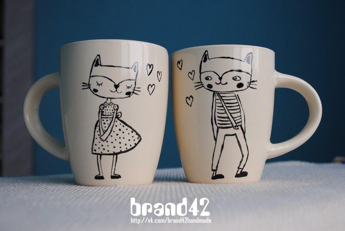 Чашки своими руками рисунки